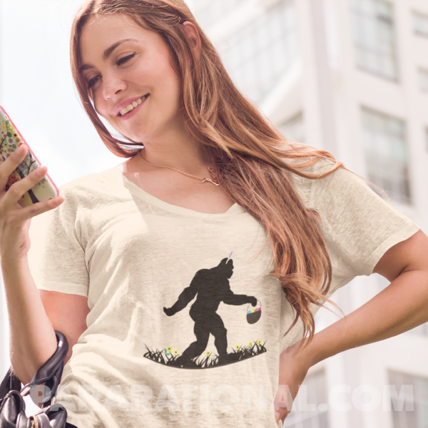 Bigfoot Easter Shirt