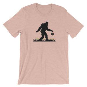 bigfoot loves easter shirt - pink