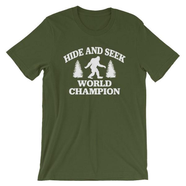 Bigfoot Hide and Seek Champion T-Shirt