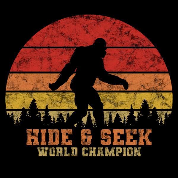 Bigfoot Hide & Seek World Champion