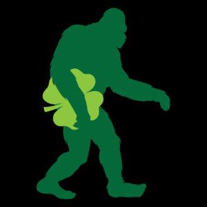 Bigfoot Shamrock T-shirt