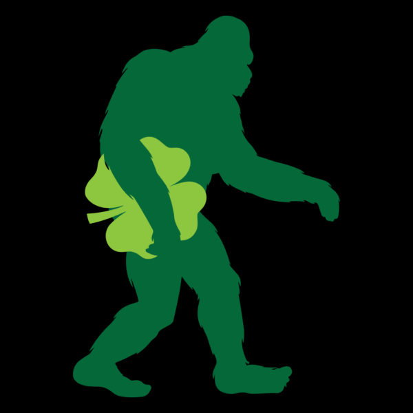 Bigfoot Shamrock T-shirt