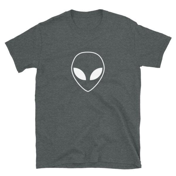 White Alien Head T-Shirt