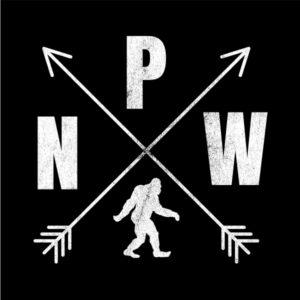 PNW logo Bigfoot T-shirt